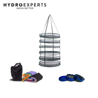 8 Pieces x 5 Gallon 19L Bubble Bags Bag + Herb Dry Rack 80CM + Grinder