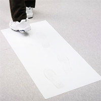 Cleanroom Sticky Mat - 60CM x 90CM | 30 sheets | White | Disposable