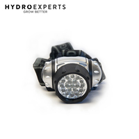 Green LED Head Lamp - for Grow Room | Tent | Hydroponic Gardening