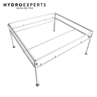 Tooless Flood Drain Tray Stand - 122CM x 122CM | 4ft x 4ft | Hydroponics | Table