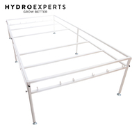 Toolless Flood Drain Tray Stand - 256CM x 136CM | 8ft x 4ft | Hydroponics |Table
