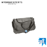 Funk Fighter Large Gym Bag - Grey | Smell Proof Duffle | Activated Carbon Lining