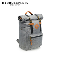 Revelry Drifter Backpack - Crosshatch Grey |23L |Odor Absorbing |Water Resistant
