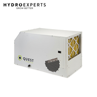 Quest Dual 155 Overhead Dehumidifier - 71L / Day | Made in USA | Delivery Only