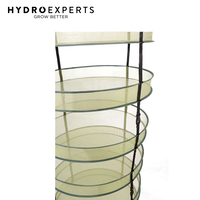 Hanging Foldable Herb Dry Rack - 6 Tier | 60CM | with Carry Bag