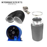 "Hyper Fan 250MM (10"" Inch) + Phresh Carbon Filter 250 x 500MM 850CFM + 6M Duct"