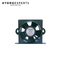 "Cultiv8 Inline Axial Booster Fan - 4"" Inch (100MM) 