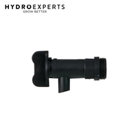 HR Drum On/Off Tap - For Barrel / Water Reservior | Hydroponic