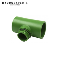 "FloraFlex Flora Pipe Tee - 19MM | Pipe Fitting | For 1"" or 3/4"" PVC Pipe"