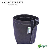 GeoPot Black Transplanter with Velcro - 4L / 7L / 11L | Fabric Smart Pot