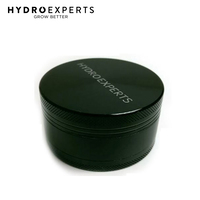 Hydro Experts Aluminum Herb Grinder - Black | 3 Piece