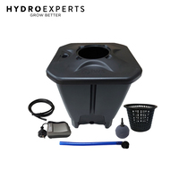 Nutriculture Oxypot Single Complete Kit - 1 Pot | DWC 19L Tank Air Pump Included