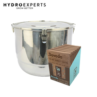 CVault Boveda Humidity Controlled Storage Combo - 21L | 6 x 320g 62% Boveda