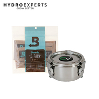 CVault Boveda Humidity Controlled Storage Combo - Small | 10 x 8g 62% Boveda