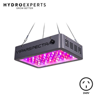 Viparspectra Dimmable LED Grow Light - VA600 | 10W Dual LED Chip | True Power Draw 132W