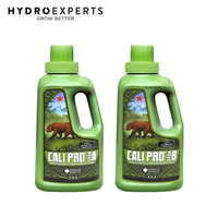 Emerald Harvest Cali Pro Grow A+B - 950ML / 1.89L / 3.79L / 9.46L / 22.7L | 2-Part Nutrient