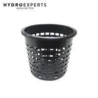 Heavy Duty Basket Mesh Plastic Plant Net Pot - 80MM x 75MM