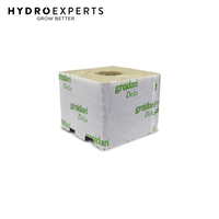 Grodan Cube Delta 8G Block - 100MM x 100MM | With Hole