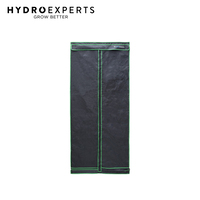 Hydro Experts Pro Grow Tent - 100 x 100 x 230CM | 1680D Mylar | High Ceiling