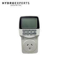 Hydro Axis Digital Seconds Timer - 10 Amp | 1 Second Timer Intervals | 2400W