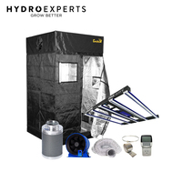 Hydro Experts Ultimate Kit Builder for 120CM x 120CM Tent w/ LED Lights