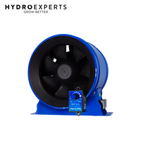 "Phresh Hyperfan EC Fan v2 w/ Controller - 150MM (6"") 