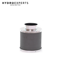 Hydroponics Air Activated Carbon Filter - 100MM X 300MM | 200CFM | Odor Remover