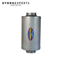 "Can-Filter Silencer 1000 Long w/ 2 x 250MM (10"" Inch) Flange"